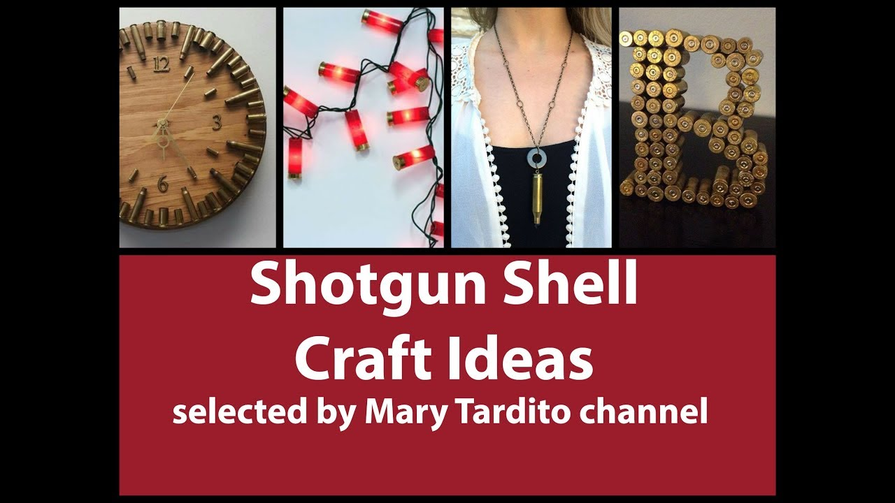 Shotgun Shell Crafts Ideas Bullet Casing Crafts Inspo Recycled