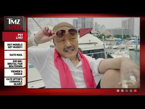 PSY TMZ Live Interview  12-09-2015