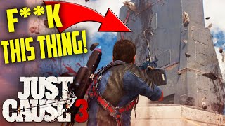 Just Cause 3 - ISLAND NUKES! - Just Cause 3 Funny Moments Gameplay