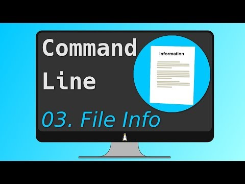 03. The Linux Command Line Ultimate Tutorial - FILE INFORMATION