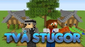 Vi Inreder Små Stugor I Minecraft