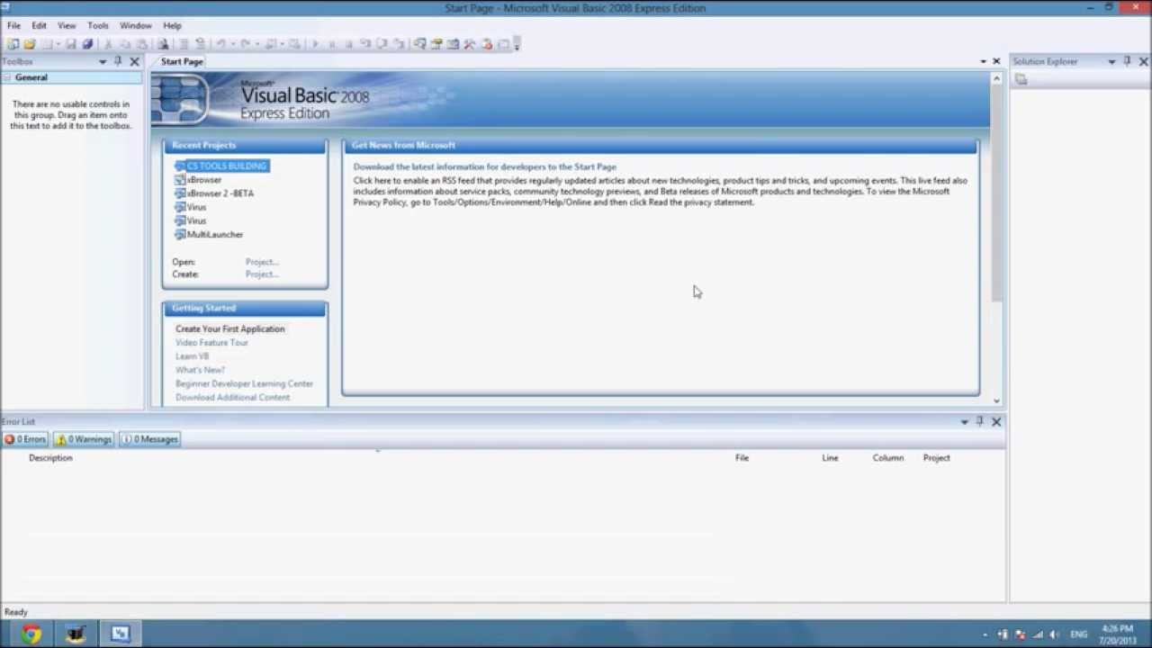 How To Crack Visual Basic 2008 Express Edition No Serial Key