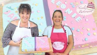 Backen mit Kindern I BFF Torte für die beste Freundin I Nicoles Zuckerwerk