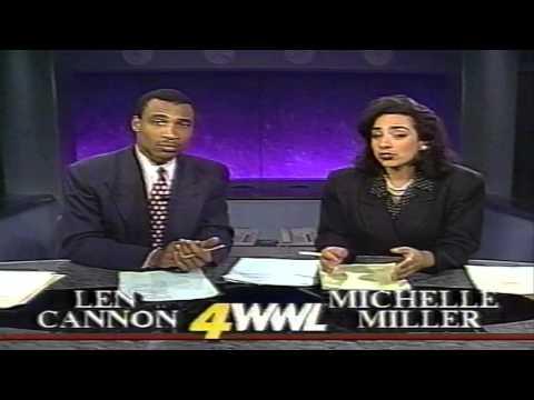 CH 4 Eyewitness News Nightwatch Nov 13, 1994 WWL TV New Orleans
