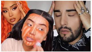 NIKITA DRAGUN | Pro MUA reacts #MAKEUP