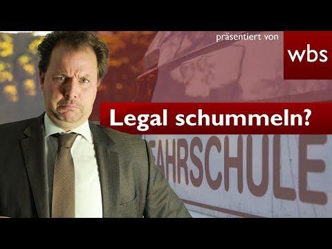 Krass: Legal schummeln bei Führerscheinprüfung? – so geht's | Rechtsanwalt Christian Solmecke