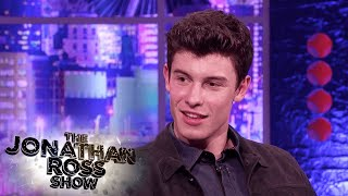 Shawn Mendes Faces His Greatest Fear! YOUTUBE EXCLUSIVE - The Jonathan Ross Show