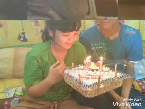 Jamrud Selamat ulang tahun (doni.cg)buat sahabat ku MECY