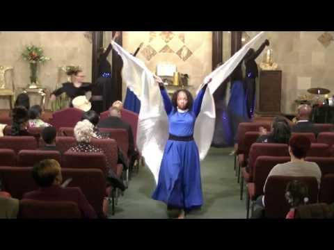 HGIC WORSHIP AND PRAISE DANCE Darrell  Walls Glory to the Lamb