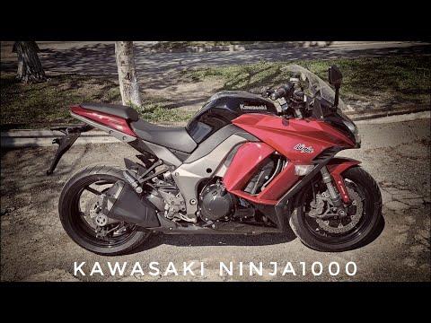 Kawasaki Ninja1000 ABS с аукциона Японии. Продажа мотоциклов с аукционов Японии.