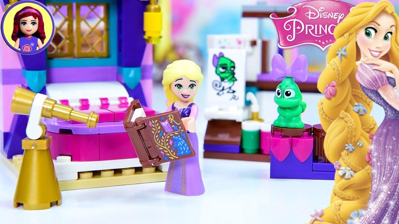 Rapunzel S Castle Bedroom Lego Disney Princess Tangled Set