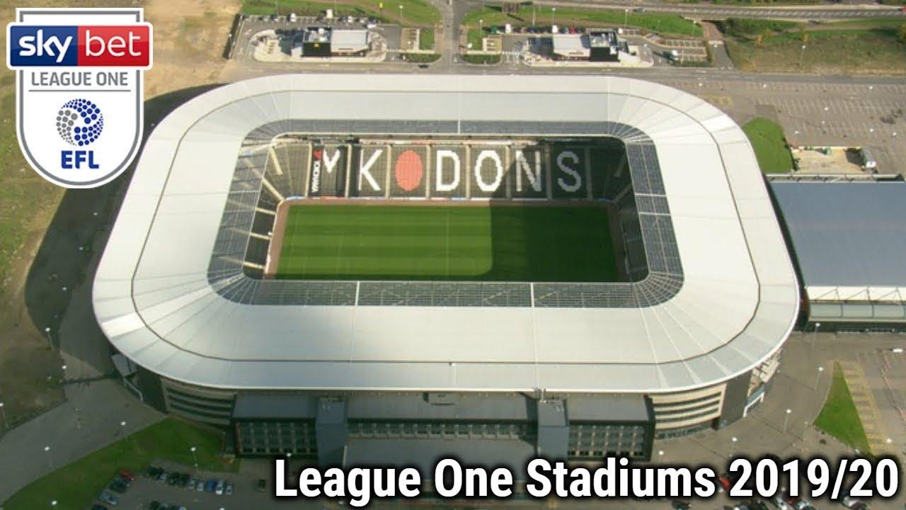 Sky Bet League One Stadiums 2019 20 Youtube