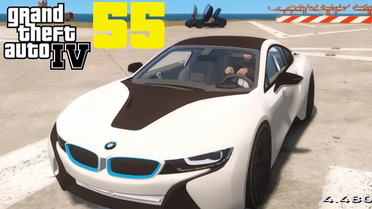 gta iv mods 055 staffel 2 bmw i8 gta iv mods mit gcg hd youtube. Black Bedroom Furniture Sets. Home Design Ideas