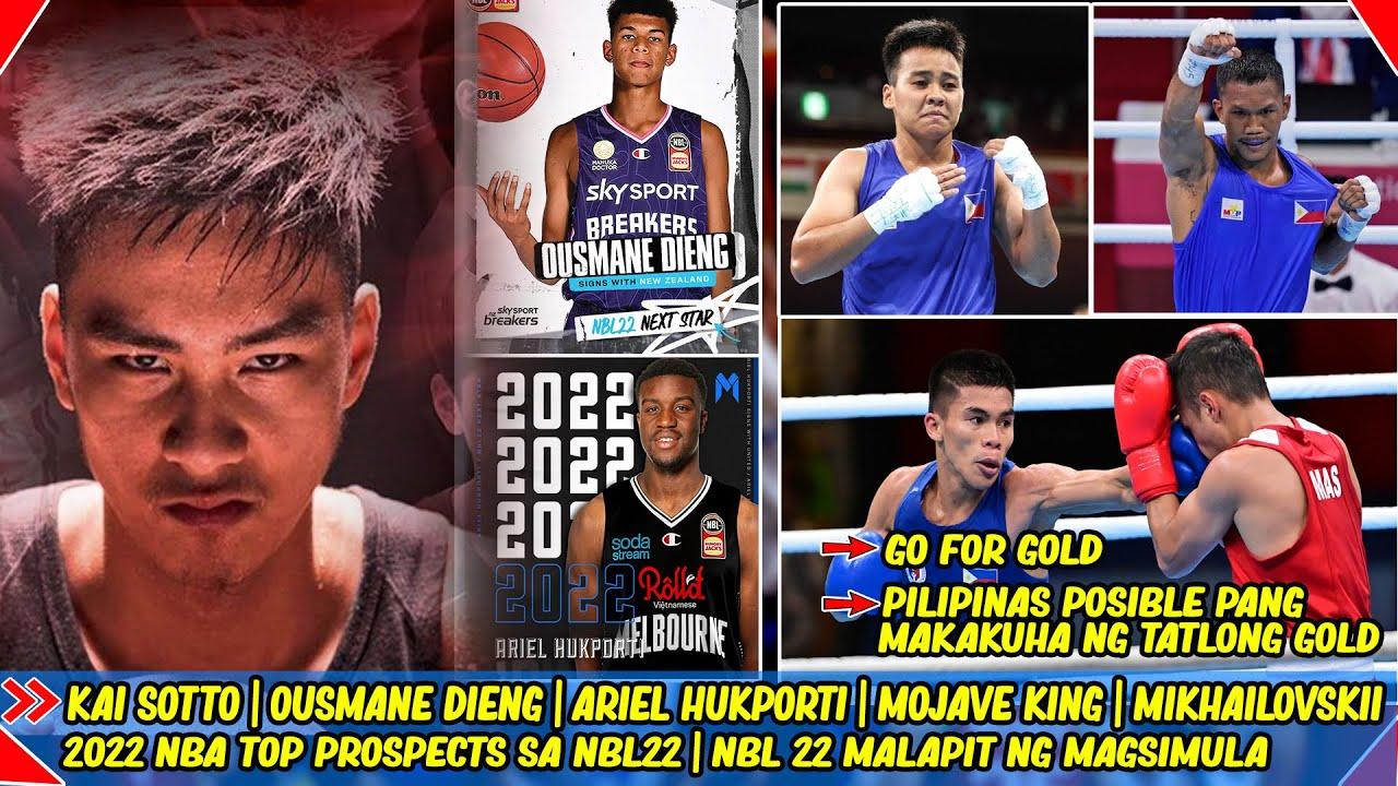 Kai Sotto | Ousmane Dieng | Hukporti | Mojave King | Mikhailovskii | 2022 Top NBA Prospects | NBL22.