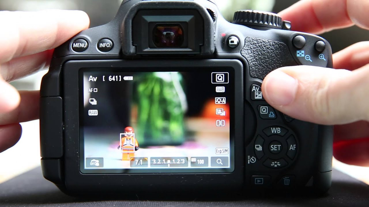 canon t4i 650d t5i 700d learning from live view youtube rh youtube com Canon T5i Canon T4i Picture Samples