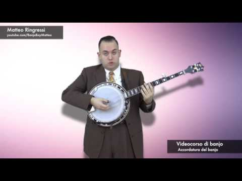 Videocorso di banjo volume 1: accordatura del banjo (completo)
