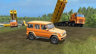 400 ТОНН ПЕСКА ДЛЯ РУССКИХ МАЛЬДИВ! - FARMING SIMULATOR 2017