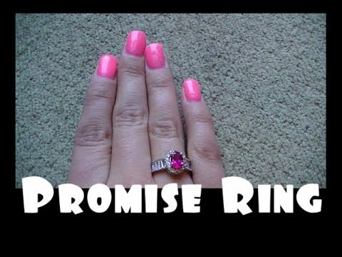 boyfriend gives a promise ring
