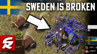 SWEDEN is WAY too good right now... | Age of Empires 3: Definitive Edition | SamuraiRevolution