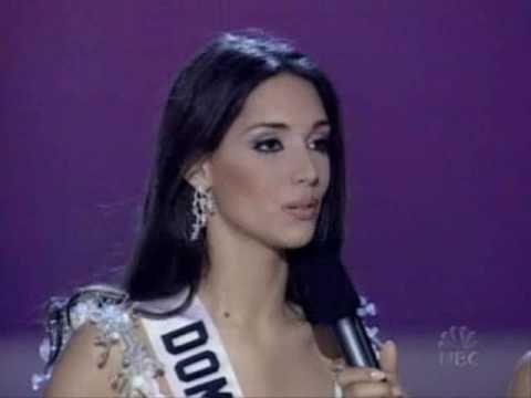 Miss Universe 2003 - Final Question