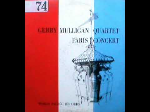 a GERRY MULLIGAN PARIS CONCERT