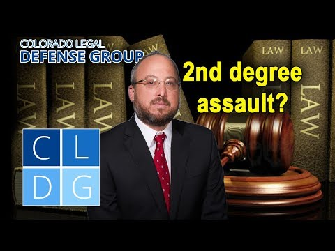 "What is ""2nd degree assault"" in Colorado?"