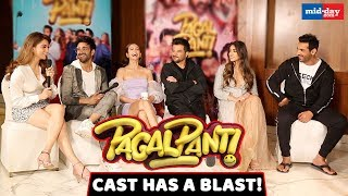 Pagalpanti cast reveal the crazy things that happened on the sets | John Abraham | Anil Kapoor