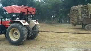 Desi video  Swaraj 855 v/s sonalika 60 tochan