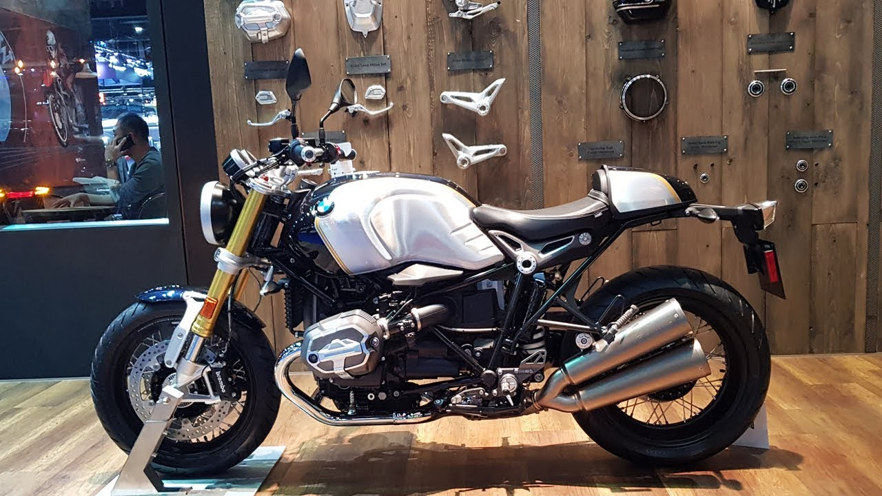 bmw r ninet option 719 blue planet metallic  aluminum