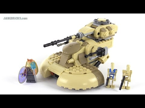 Lego Star Wars 2015 Aat Tank Review Set 75080 Youtube