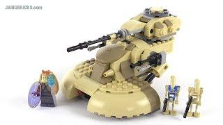 LEGO Star Wars 2015 AAT tank review! set 75080