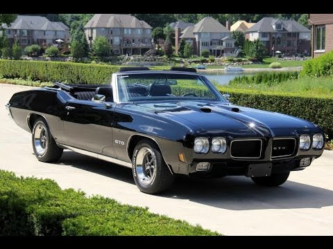 1970 Pontiac Gto Convertible For Sale Youtube