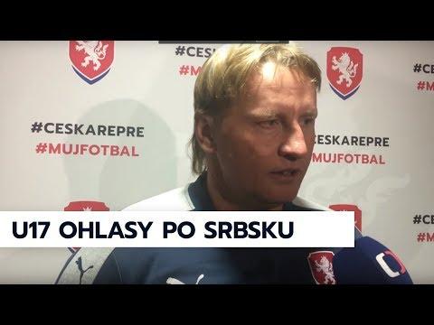 Ohlasy po utkání kvalifikace ME U17 ČR - Srbsko