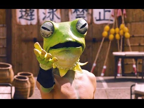 【吐嚎】1只会功夫的青蛙竟打的日本黑帮社会人抱头鼠窜