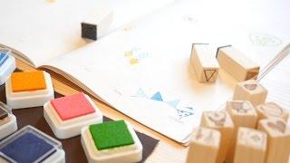 綺麗に剥がれて気持ちがいい!ゴム印ハンコを作ってみました。how to make stamp またゴム 検索動画 9