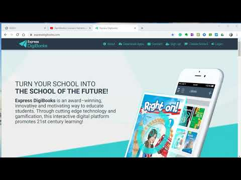 How to use Kenteris EDU ExpressDigibooks platform