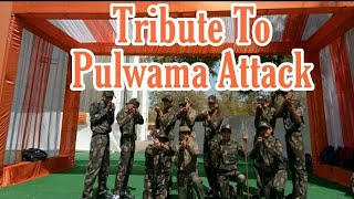 Tribute To Pulwama Attack Drama With Dance | Indian Army | Nilkanth School Morbi