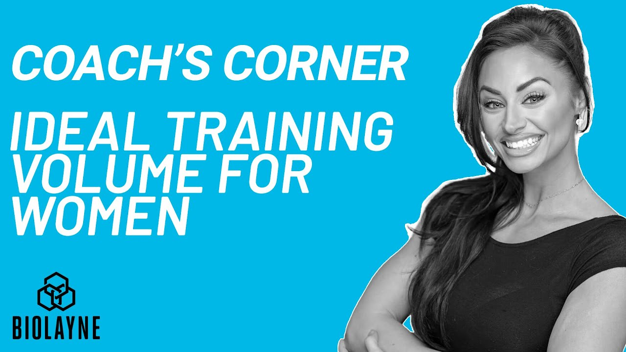 Ideal Training Volume for Females | Coach's Corner | Coach Theresa Miller