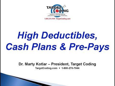 Target Coding Video High Deductibles, Cash Plans & Pre Pays