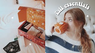 FALL ESSENTIALS 2018 | everything you NEED for fall ;)
