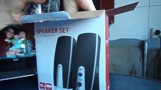 Моя распаковка - Колонки Trust Speaker set