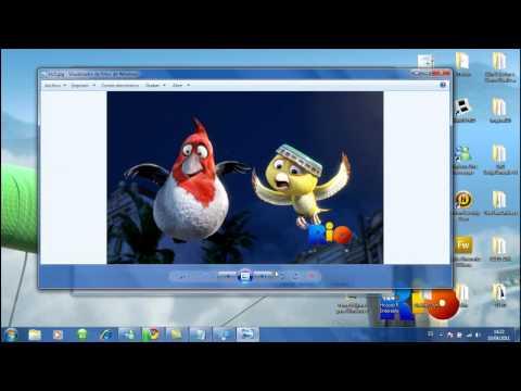 Descargar el tema de la pelicula Rio para windows 7
