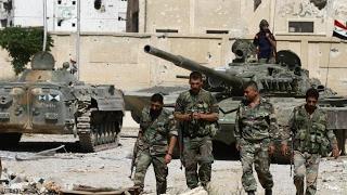 أخبار عربية | حملة عسكرية في دمشق للتهجير تشنها قوات نظام الأسد