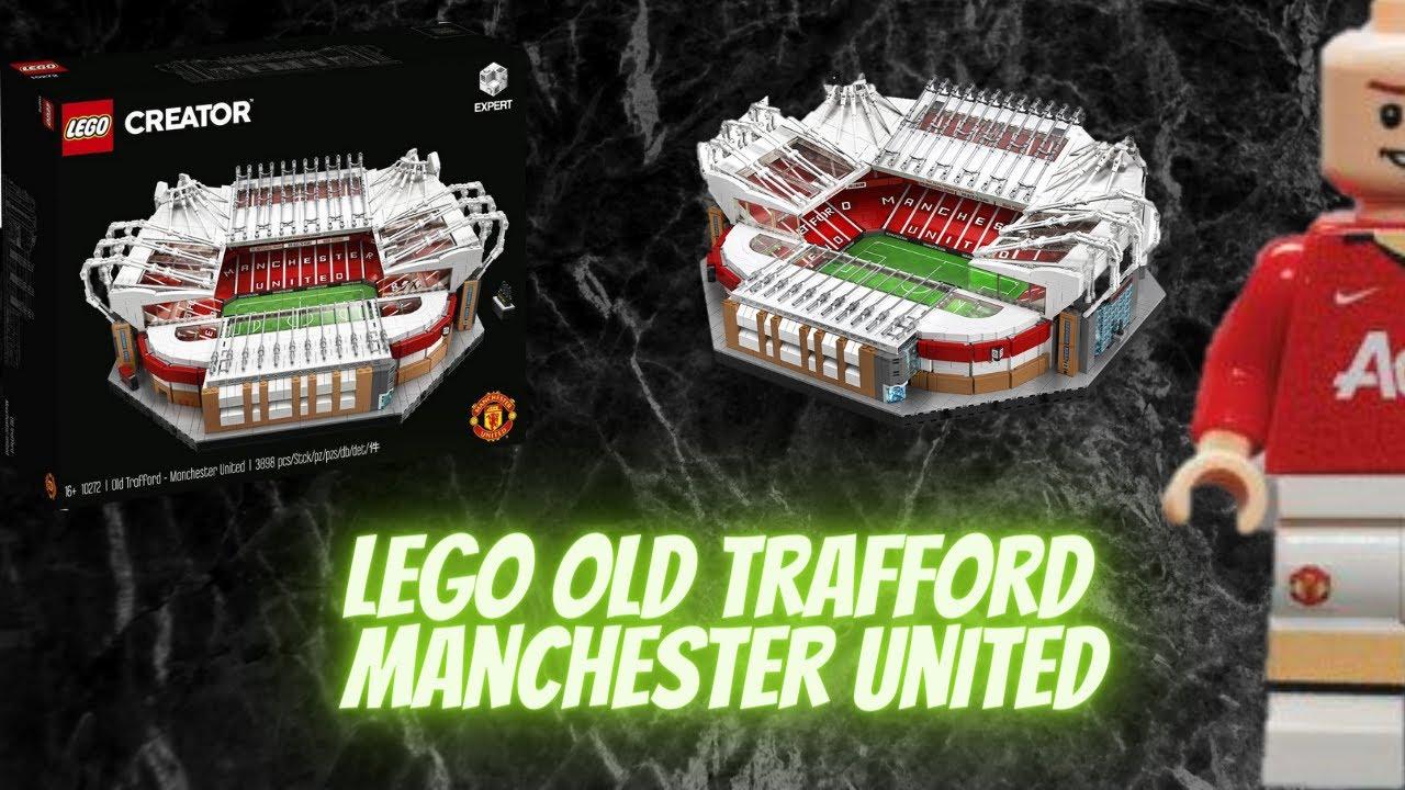 lego creator unboxing old trafford manchester united stadium youtube youtube