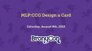 MLP:CCG Design a Card
