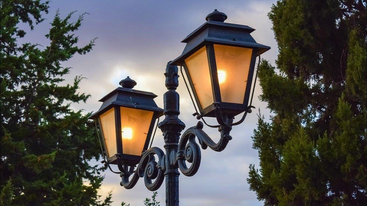 Уличные фонари из чугуна