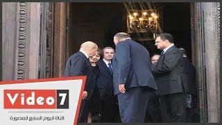وزير خارجية فرنسا لشكرى: لم يكن لأى دولة تحقيق المصالحة الفلسطينية إلا مصر