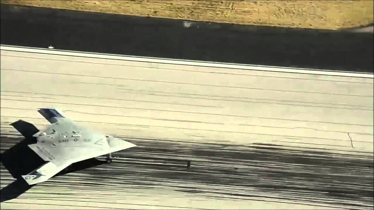 X 47b Drone