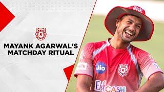 Mayank Agarwal's Matchday Rituals!