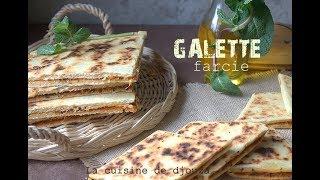 Recette de Aghroum farci une galette aux poivrons et oignons pour c...